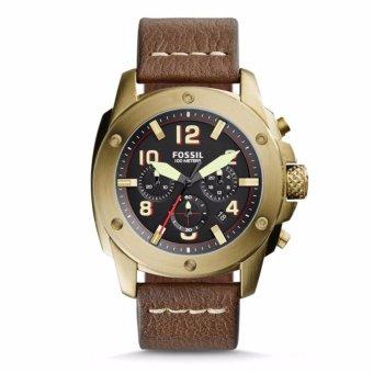Triple 8 Collection - Fossil Modern Machine FS5065 Gold - Jam tangan Pria