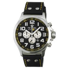 TW Steel Men's TW673 RF1 Team Pilot Black Dial Watch - Intl