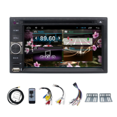 Two 2 Din 6.2 INCH Android 4.2 Car Dvd GPS Player Radio Camera Navigation Stereo Universal Camera For Nissan X-Trial Xtail Qishqai
