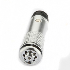 UJS Silver Mini Car Auto Fresh Air Purifier Oxygen Bar Ionizer Plug Freshener Clean (Intl)
