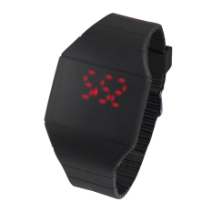 Ultra-thin Touch Screen Watch Jelly LED Watches (Intl)