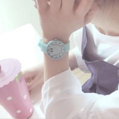 Ulzzang kartun gadis lembut SMP jelly menonton jam tangan