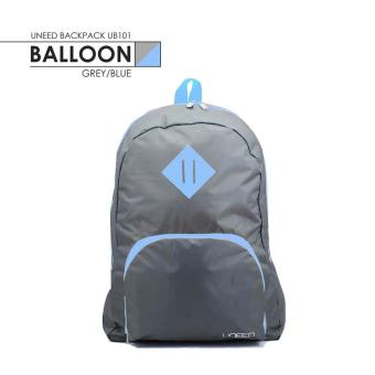 UNEED Balloon Backpack Waterproof UB101 - Grey/Blue