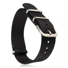 Universal 18mm Durable Men's Military Nylon Wrist Watch Band Strap 260mm 30#