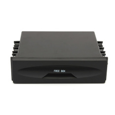 Universal Car Auto Single Din Single-disc Plastic Radio Pocket Storage Box New (Intl)
