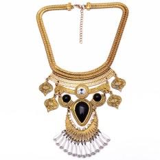 Universal - Kalung Korea - Raisa Necklace - Antique Gold