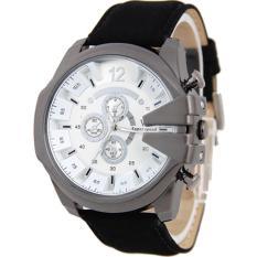 V6 Jam Tangan Fashion Pria Strap Kulit S ..