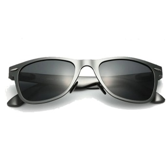 VEITHDIA Aluminium Laki Laki Matahari Kacamata Terpolarisasi Cermin Mengemudi Memancing Kolam Kacamata Aksesoris .