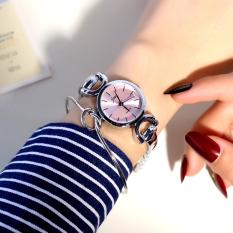 Versi Korea dari siswa SMA perempuan gadis menonton gelang jam tangan