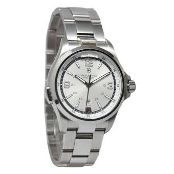 Victorinox Jam Tangan Pria Silver Stainless Steel 241571-Night-Vision