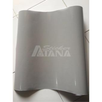Vinyl Color Silver / Grey (Abu-Abu) Glossy A Scotlite Sticker
