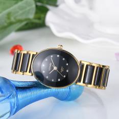 Waterproof Man LONGBO Luxury Round Business Ceramic Wristwatch Watches Casual Couple Quartz Watch 8410