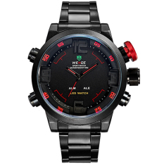WEIDE Watch Men's Watch Military Watches Sports Quartz Wristwatches 6-color Watch 12-month Guarantee WH 2309 (Red)