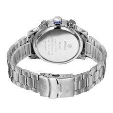 WEIDE WH-3311 Men's Fashion Stainless Steel Band 3ATM Waterproof Quartz Watch With Calendar (Intl)