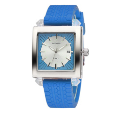 Weiqin Date Luminous Silicone Strap Men's Sports Watches Brand Shock Resistant Quartz Watch Time Hours Boys Relogios Masculinos (Blue) (Intl)