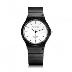 WOMAGE Fashion Plastic Candy Color Quartz Watch - Intl