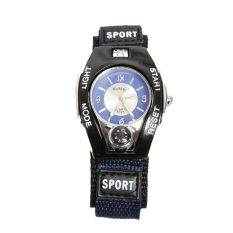 WoMaGe Nylon Strap Womage Sports Watch Blue
