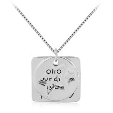Women Fashion Jewelry Silver Alloy Chain Link Square Hollow Round Coin Star Pendant Necklace Best Gift For Friends Family (Intl)