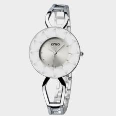 Women's Fashion Bracelet Rose Gold Watches Japan Movt, 3ATM Water Resistant Wristwatch Silver (Intl)