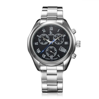xfsmy IK ADA APA automatic mechanical watches Mens watch three eyes six multifunctional needle tide's 98180G (Black) - intl