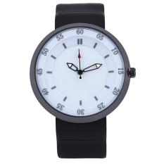 XINEW 2138 Men Quartz Watch Analog Display Water Resistance Wristwatch (White)