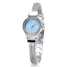 YAQIN Brand Watch Women Bracelet Watches Dress Fashion Casual Watch Quartz Luxury Wristwatch- Blue