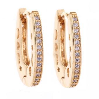 ... Anting Emas Bintang Wanita International Daftar Source · Kadis 24 Kb Berlapis Emas Keindahan Perhiasan Hati Gloden Double Source Yazilind 18