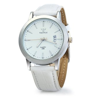 Swiss Army Jam Tangan Fashion Pria & Wanita Tali Rantai Stainless Steel Limited. Source · Yazole 296 Date Display Quartz Watch with Double Scales Leather ...