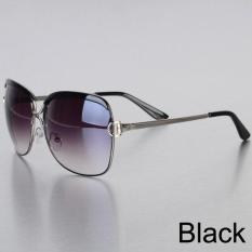 YBC Women Metal Frame Sunglasses Alloy Legs Glasses - intl