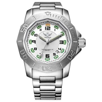 YELANG V1005.1.1 100M Waterproof Tritium Gas Green Luminous Swiss Quartz Movement Sapphire Mirror Mens Watch