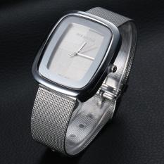 Yika Women's Steel Band Quartz Wrist Watch (Silver)