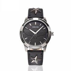 YJJZB KEZZI Brand 2016 Luxury Men Quartz Watches Men's Leather Casual Wristwatch Relogio Masculino 30M Waterproof Montre Homme