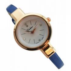 YUHAO 636301 Jam Tangan Kulit Fashion Analog Watch - Biru