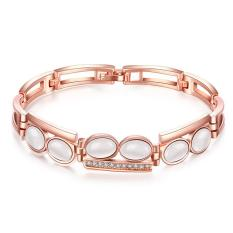 Z083 Good Quality Nickle Free Antiallergic 2015 New Fashion Jewelry 18K Gold Plated Bracelets - Intl