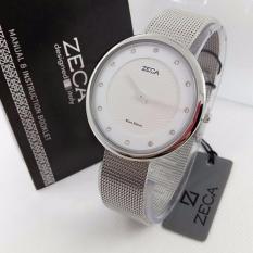 Zeca - Jam Tangan Wanita - Stainless Steel - Zeca ZC1001 Silver