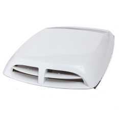 Zhuoda Car Air Flow Intake Bonnet Vent Cover Decorative Engine Hood ScoopUniversal - Intl