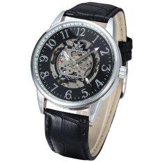 ZUNCLE Fashion Automatic Mechanical Analog Men's Wrist Watch (Black)