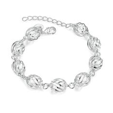 ZUNCLE Handmade Women European Charm Silver Bracelet (Gold) (Intl)