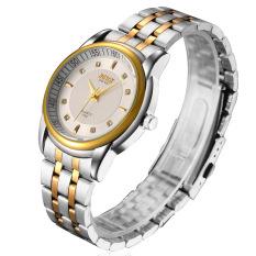 ZUNCLE Men Business Waterproof Stailess Steel Band Wrist Watch (White) (Intl)
