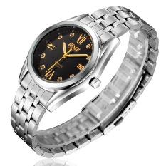 ZUNCLE Men Noctilucent Waterproof Wrist Watch (Black) (Intl)