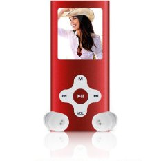 "8GB Slim Digital MP3 MP4 Player 1.8"" LCD Screen FM Radio Video Games Movie New (Red) (Intl)"