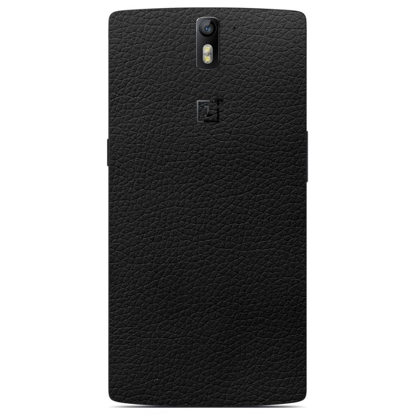 9Skin 3M Skin Protector Oneplus One Leather  Texture Made in Japan - Hitam