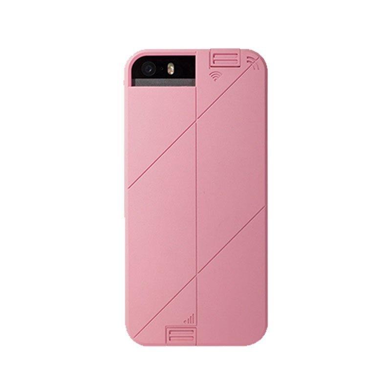 Absolute Linkase Pro 3G+Wifi Signal Enhancing Case for iPhone SE / 5S / 5 - Blush Pink