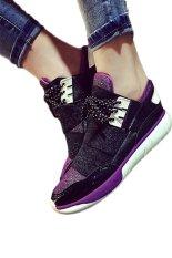 Ace Fashion Women Platform Breathable Running Shoes(Purple)