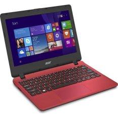 """Acer Aspire ES1 131 - 11.6"""" - Intel - N3050 - 2GB RAM - 500GB - Win 10 - Merah"""