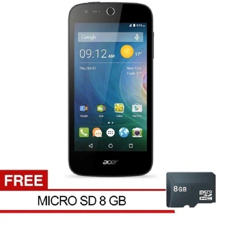 Acer Liquid Z320 - 8GB - Putih + Free Micro SD 8GB