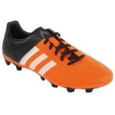 Adidas ACE15.4 FXG S83171 - Sepatu Bola - Hitam-Oranye