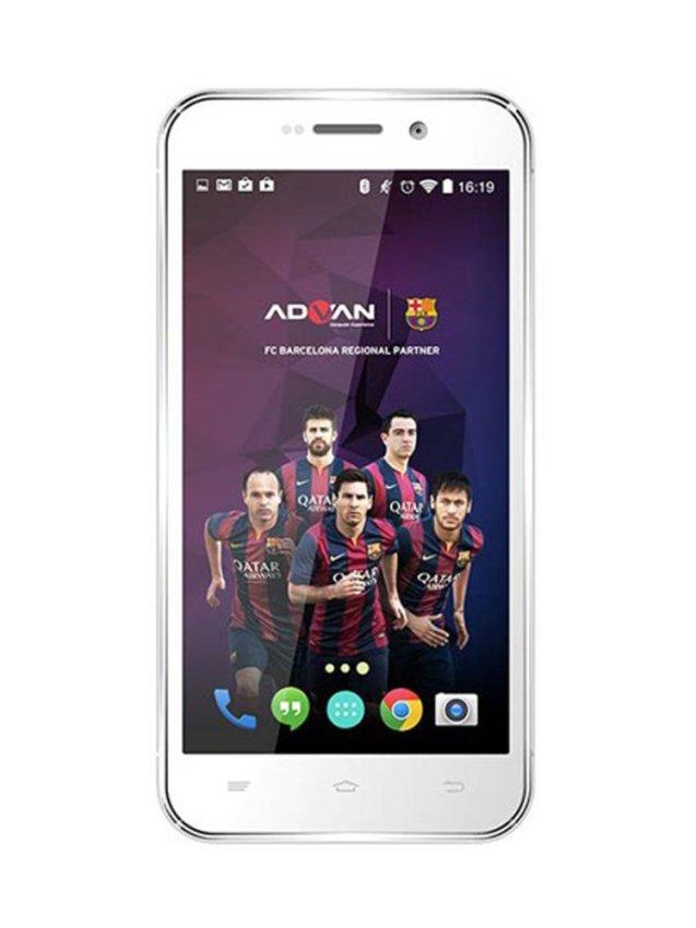 Advan Barca Phone S5Q - 8GB - Silver