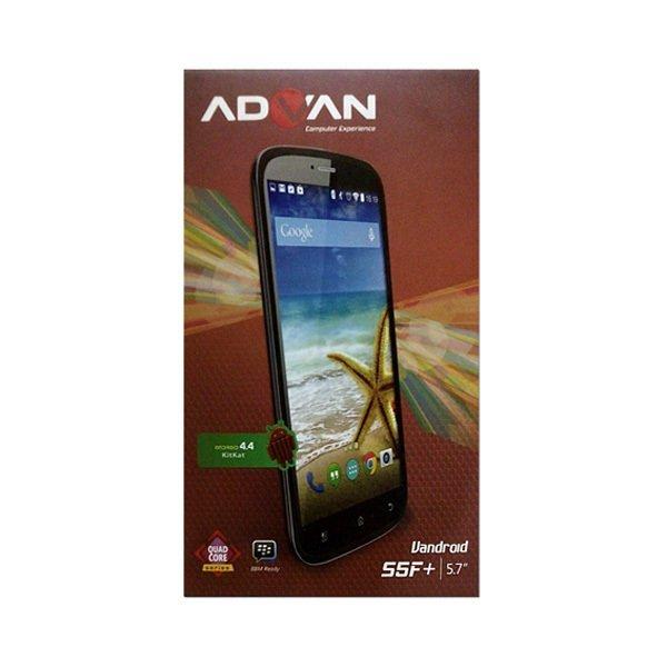 Advan S5F+ - KitKat 4.4 - 8 GB - Abu-Abu