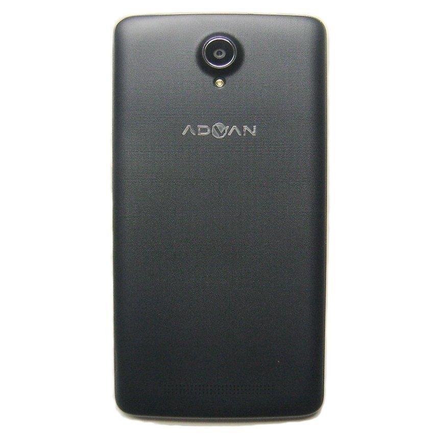 Advan S5X+ Dual SIM - 8GB - Hitam